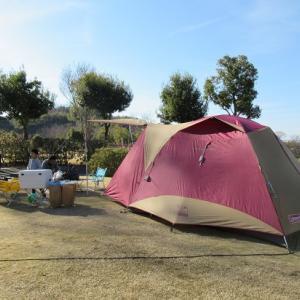 和歌山 のかみふれあい公園オートキャンプ場でファミリーキャンプ②