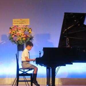 今日はピアノ発表会