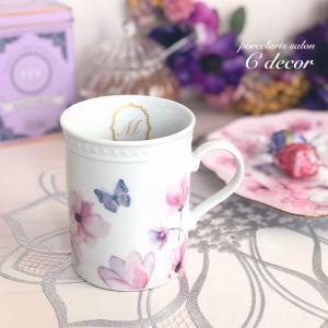 〈生徒様作品〉アネモネ&チューリップ♡大人可愛いマグカップ