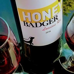 Badgerバッジャーという動物と、HONEY BADGERという甘めの赤ワイン
