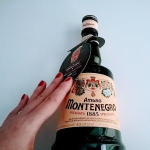 モンテネグロ^^イタリアの薬草系甘いリキュール(distilled in Bologna)