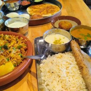 スパイス何種類?インド料理も奥が深いよね、ベジタリアン料理で罪悪感も薄れて?!健康な気分になる気がする(笑)