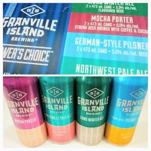 カナディアン ビールGRANVILLE ISLAND 4種類詰め合わせが楽しい