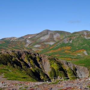 秋の北海道 大雪山黒岳の紅葉
