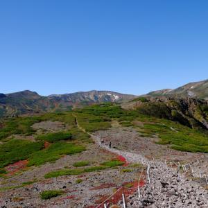 紅葉の大雪山 黒岳からお鉢平へ