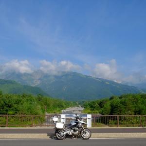 夏の白馬ツーリング 白馬岩岳へ