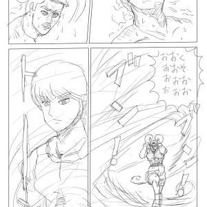 【絵コンテ第九稿】ソラの拳(162~167頁)