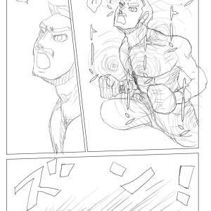 【絵コンテ第九稿】ソラの拳(174~179頁)