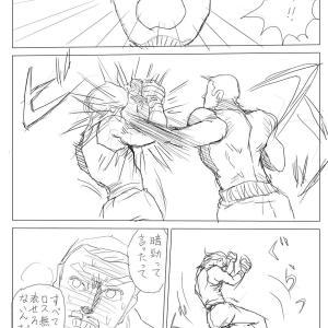 【絵コンテ第九稿】ソラの拳(180~185頁)