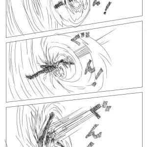 【絵コンテ第九稿】ソラの拳(204~209頁)
