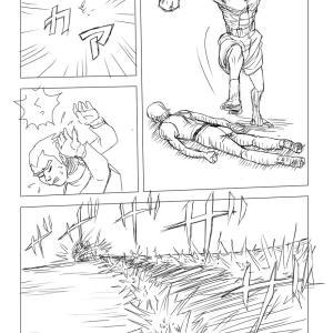【絵コンテ第九稿】ソラの拳(216~222頁)