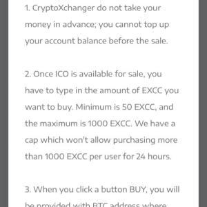 CryptoXchangerはオススメLending系ICOです(*´∀`)♪