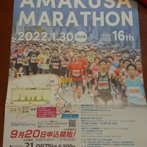 天草マラソン開催