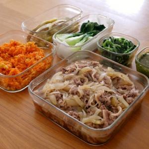 台風一過…気持ちを新たに常備菜