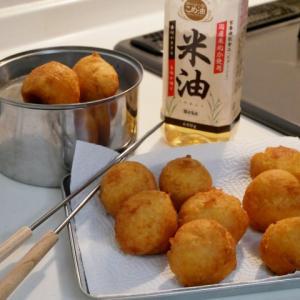 「米油」でサクッと軽い豆腐ドーナツ