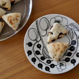 続・フープロで簡単♪米粉と豆腐のスコーン