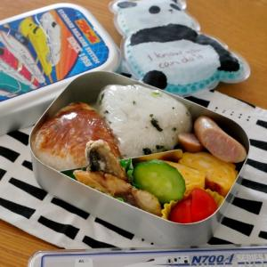 鯖の竜田揚げのお弁当