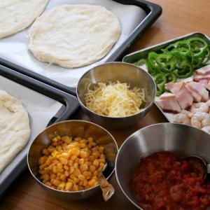 新オーブンの使い心地*ピザとプリン
