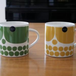 スンヌンタイの2色のマグカップ
