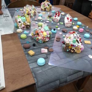念願のお菓子の家のワークショップ