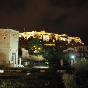 アテネに短時間滞在