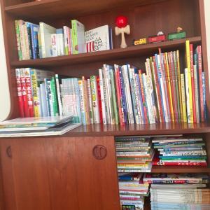 【おうち図書館の整理】年間100冊の絵本を読んできた我が家の習慣