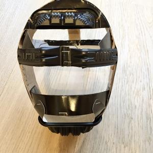 【少年野球】パパが手作りしたキャッチャーマスクがすごかった。