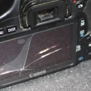 篠窪(しのくぼ)より カメラの液晶保護ガラスが大破