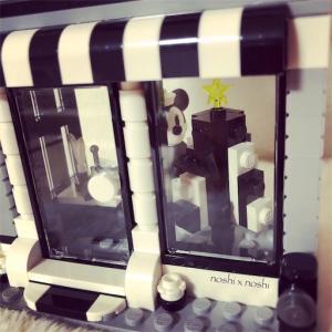 レゴ クリスマスツリーの作り方 ❤︎ Black & White ❤︎