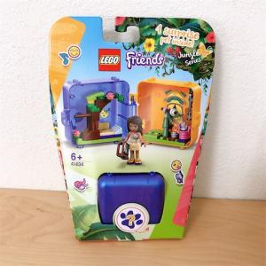 【セットレビュー】レゴ (LEGO) フレンズ キュービーズ - アンドレアのジャングル探検 41434