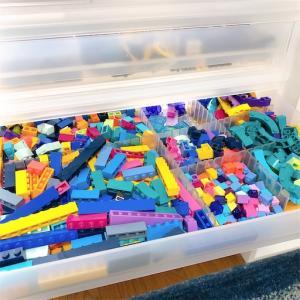 【レゴ収納】あふれるレゴにニトリのレターケース追加!!(4個目)