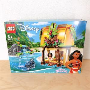【セットレビュー】レゴ ディズニープリンセス 43183 モアナと伝説の海 モアナの島のお家