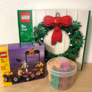 【レゴお買い物】クリスマスリースとハロウィンセット、PABも♪
