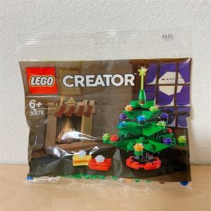 レゴ クリスマスツリー 30576 をゲット!!作り方の謎がわかってスッキリ〜