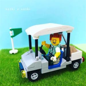 レゴ ゴルフカートの作り方☆