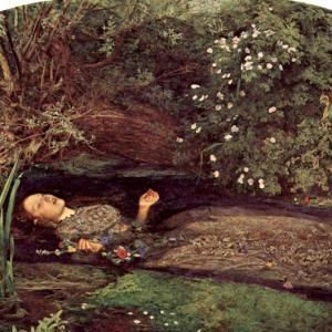 ミレイのバースデー(1829.6.8)ミレイといえば「オフィーリア」