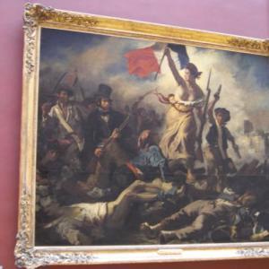 フランス革命ではありません(ドラクロワご命日)