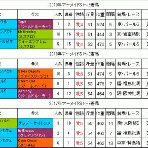 マーメイドS2020過去データ ハンデ51kgが連勝中