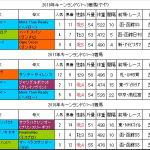 キーンランドカップ2019過去データ 牝馬が強い