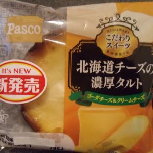 今日のパン🍞!北海道チーズの濃厚タルト ゴーダチーズ&クリームチーズ