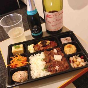 パリのワイン食堂でフルコース膳1,000円をテイクアウト@東銀座