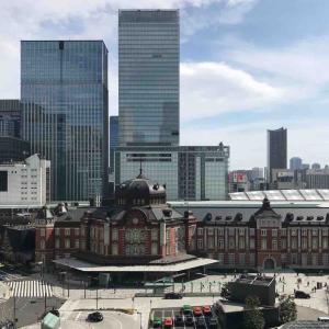 東京駅を眺めながら RIGOLETTO WINE AND BAR@丸の内