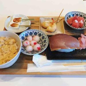 おいしい浮世絵展のタイアップ御膳 Cafe THE SUN@六本木