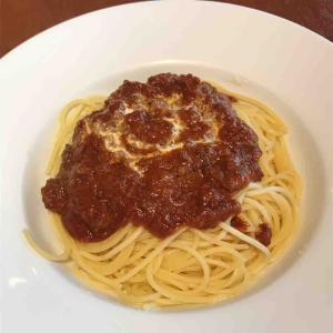 誠に美味なミートソーススパゲティ Pasta Bar MAKITA(マキタ)@末広町