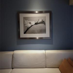 アクセントクロスやアートを楽しむお部屋