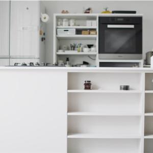 うちのキッチンには収納は1つもありませんがとても使いやすいです  現在のキッチンの様子