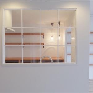 白と回遊性のマンションリノベーションがもうすぐ完成