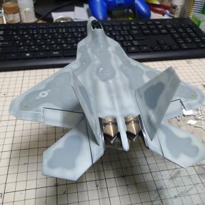 1/72 F-22 ラプター その4