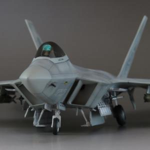 1/72 F-22 ラプター 完成