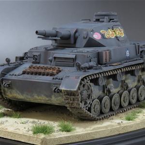 Ⅳ号戦車D型(ガルパン) 完成